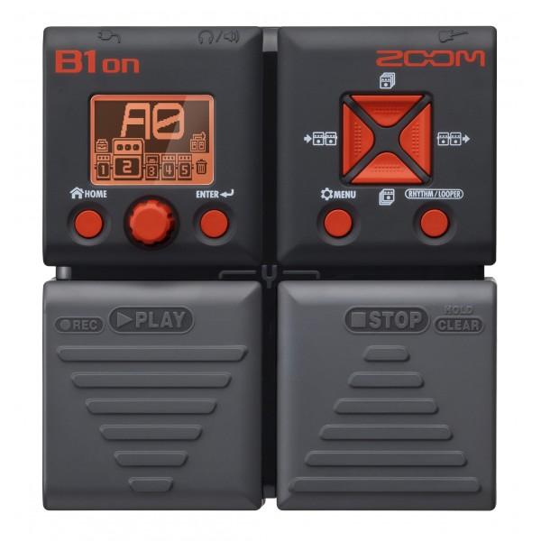 Zoom B1on  Bass Effe...