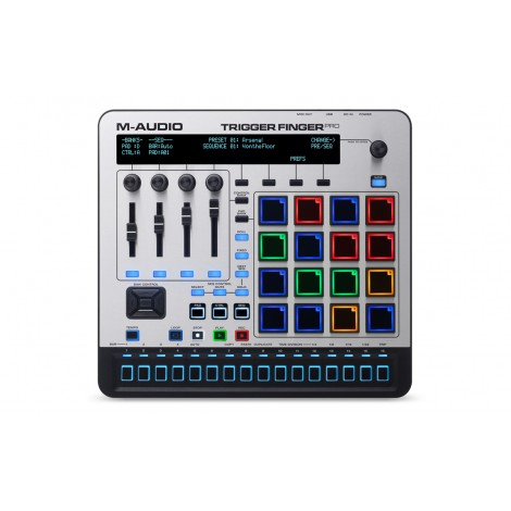 M-Audio Trigger Finger Pro USB MIDI Controller with Step Sequencer